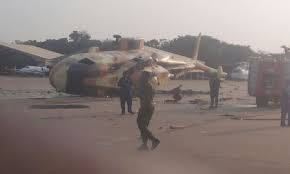 Two Nigeria Air Force Fighter Jets Crash In Abuja