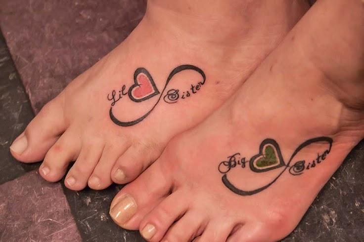 Best Friend Tattoos Infinity Symbol