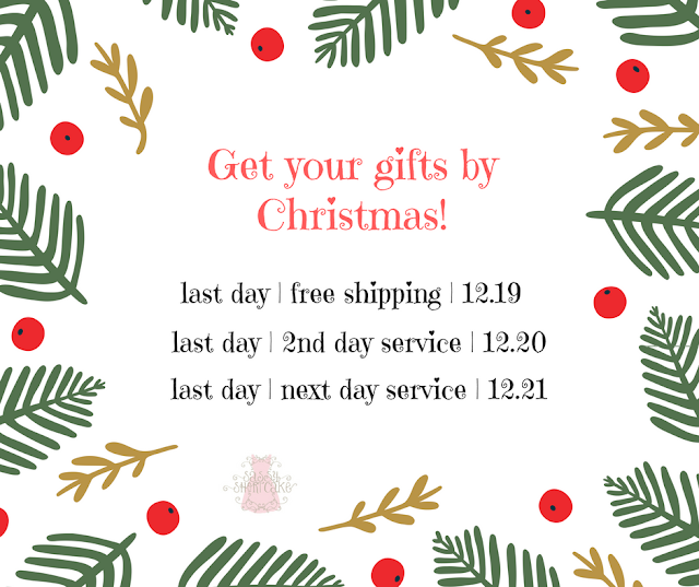 Shipping cut off times for Sassy Shortcake Boutique