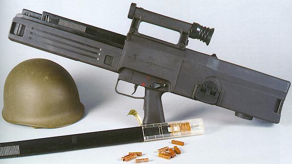 Future War Stories: FWS Armory: Caseless Ammunition