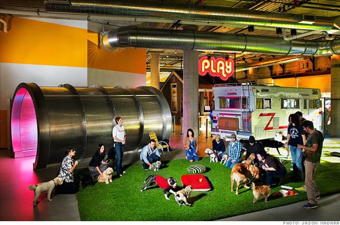 World Of Technology Companies With The Coolest Office Designs 39 Pics