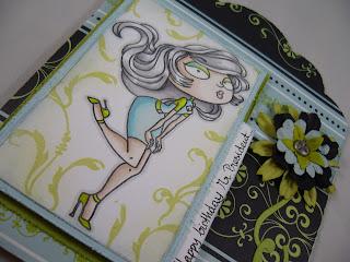 Kraftin' Kimmie happy birthday card