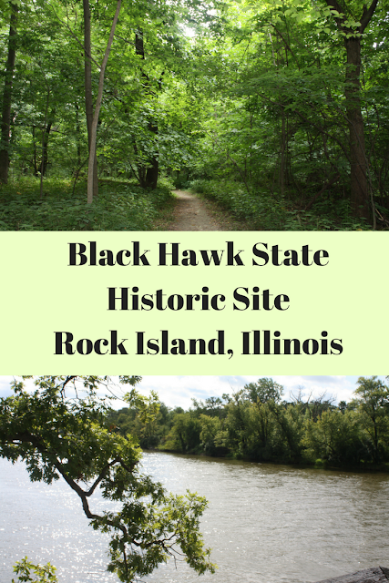 Hiking at Black Hawk State Historic Site in Rock Island, Illinois