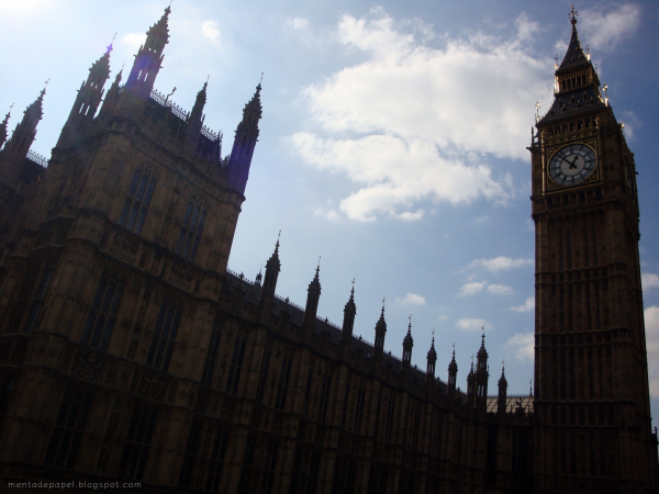 Big Ben y el Parlamento Inglés