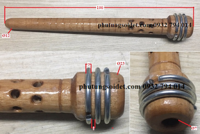 Suốt gỗ - Wooden shuttle tubes
