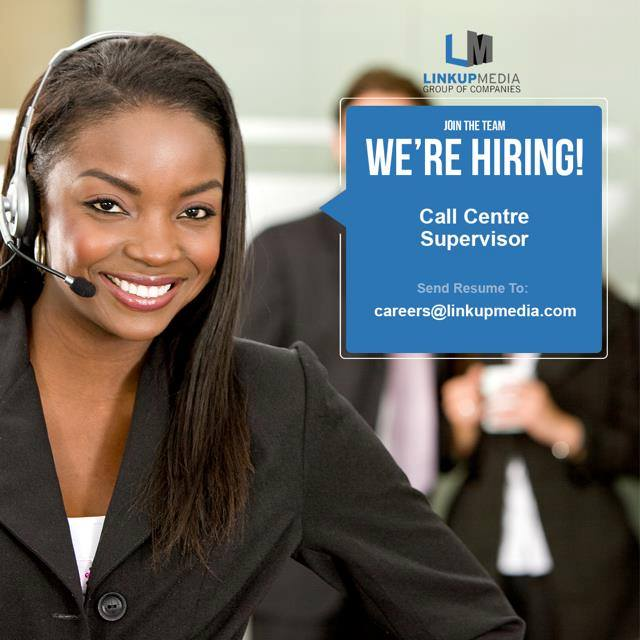 We Are Looking For A Competent Call Centre Supervisor To Organize And  Direct The Staff At Our Call Centre. You Will Be Responsible For Assessing  Their Work ...  Call Center Supervisor