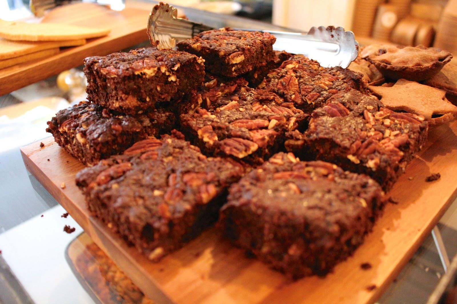 The Mae Deli by Deliciously Ella vegan brownies