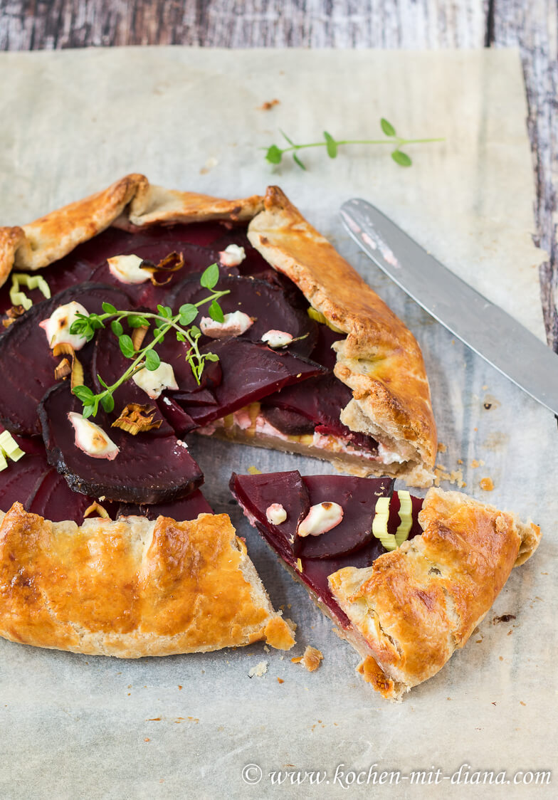 Rote Bete Galette