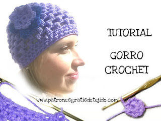 patrones-gorro-crochet-punto-garbanzo