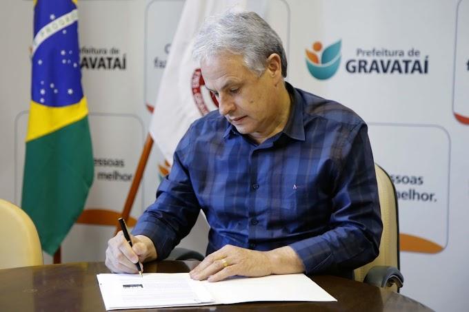 GRAVATAÍ | Marco Alba anuncia projeto de lei que prevê R$ 8.794 milhões para obras viárias