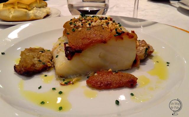 Restaurante Montellén Valladolid - platos - Bacalao