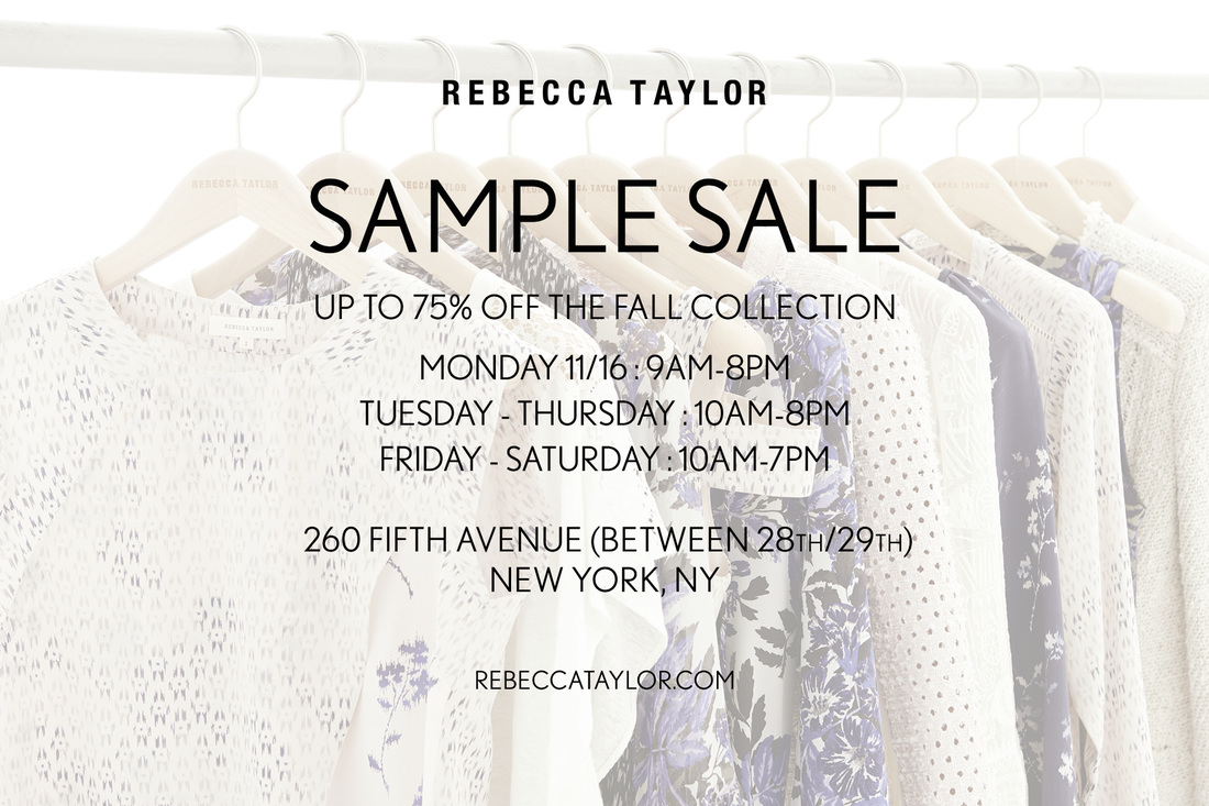 c0eb6910607 fashionably petite  Rebecca Taylor Sample Sale - 11 16 - 11 21 15