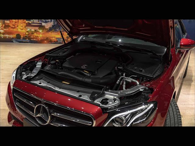 Động cơ mới trên Mercedes E200 Sport 2019