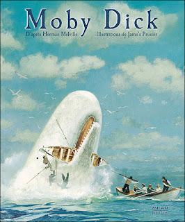 Moby Dick Jame's Prunier  roman graphique album illustré