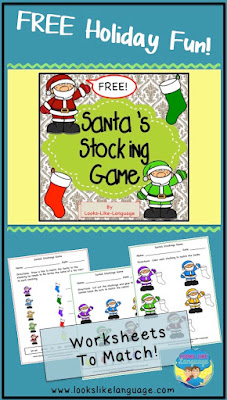 The free Santa set is complete! Looks-Like-Language!