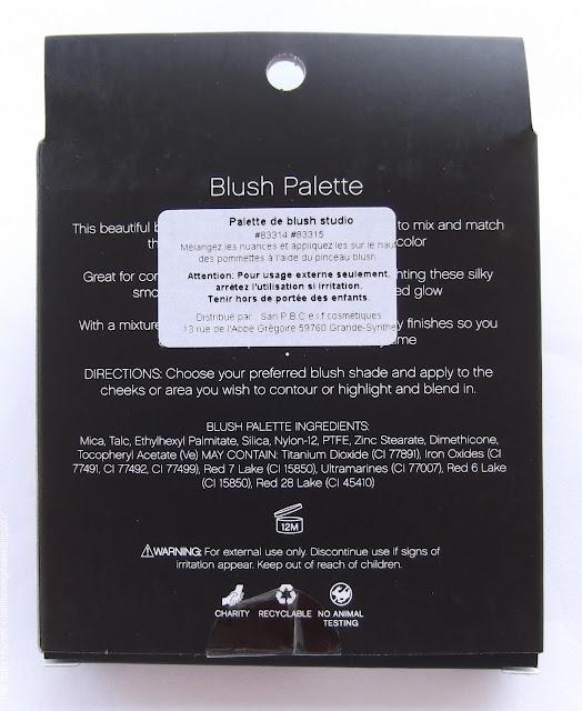 ELF COSMETICS - Palette de Blush Studio,Dark