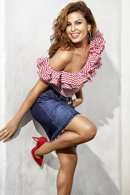 Eva Mendes sebagai Monica Fuentes (The Fast and The Furious) pah amulus