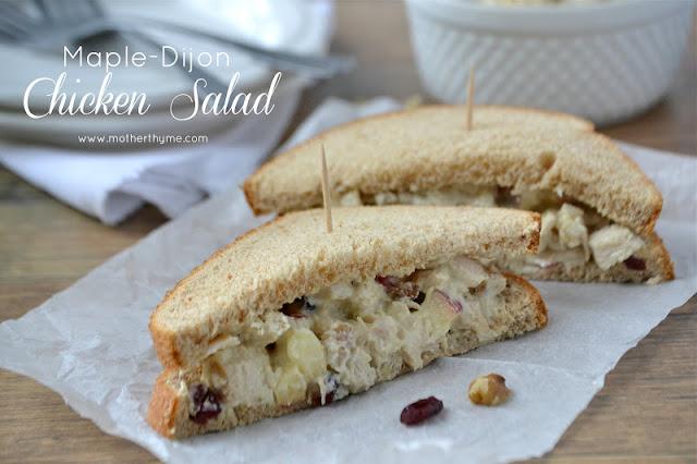 Maple Dijon Chicken Salad