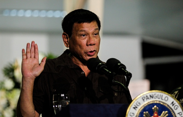 Duterte: the Aquinos should have passed a law against Marcos burial while in power