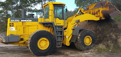 Komatsu Wheel Loader shop Manual WA500-3LK
