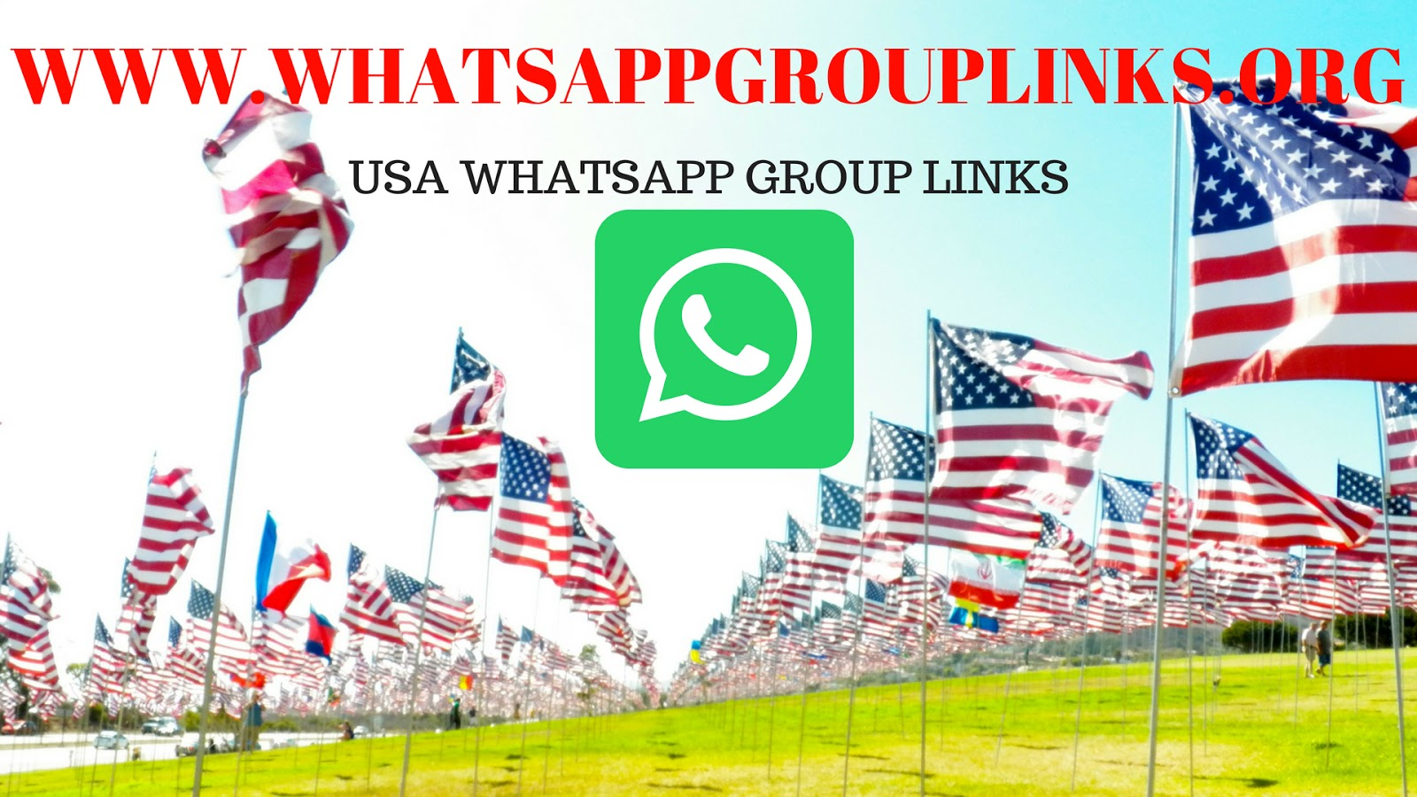 join latest USA WhatsApp group links 2018 - Whatsapp Group Links