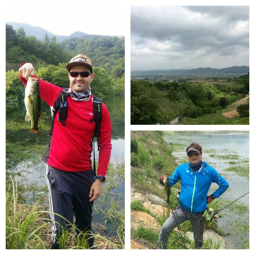 bass fishing in Hapcheon