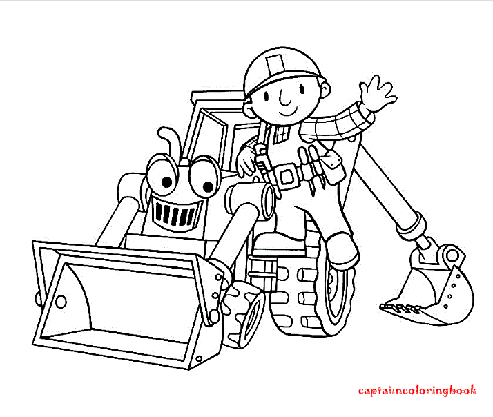 Bob the Builder coloring pages on Coloring-Book.info | 604x714