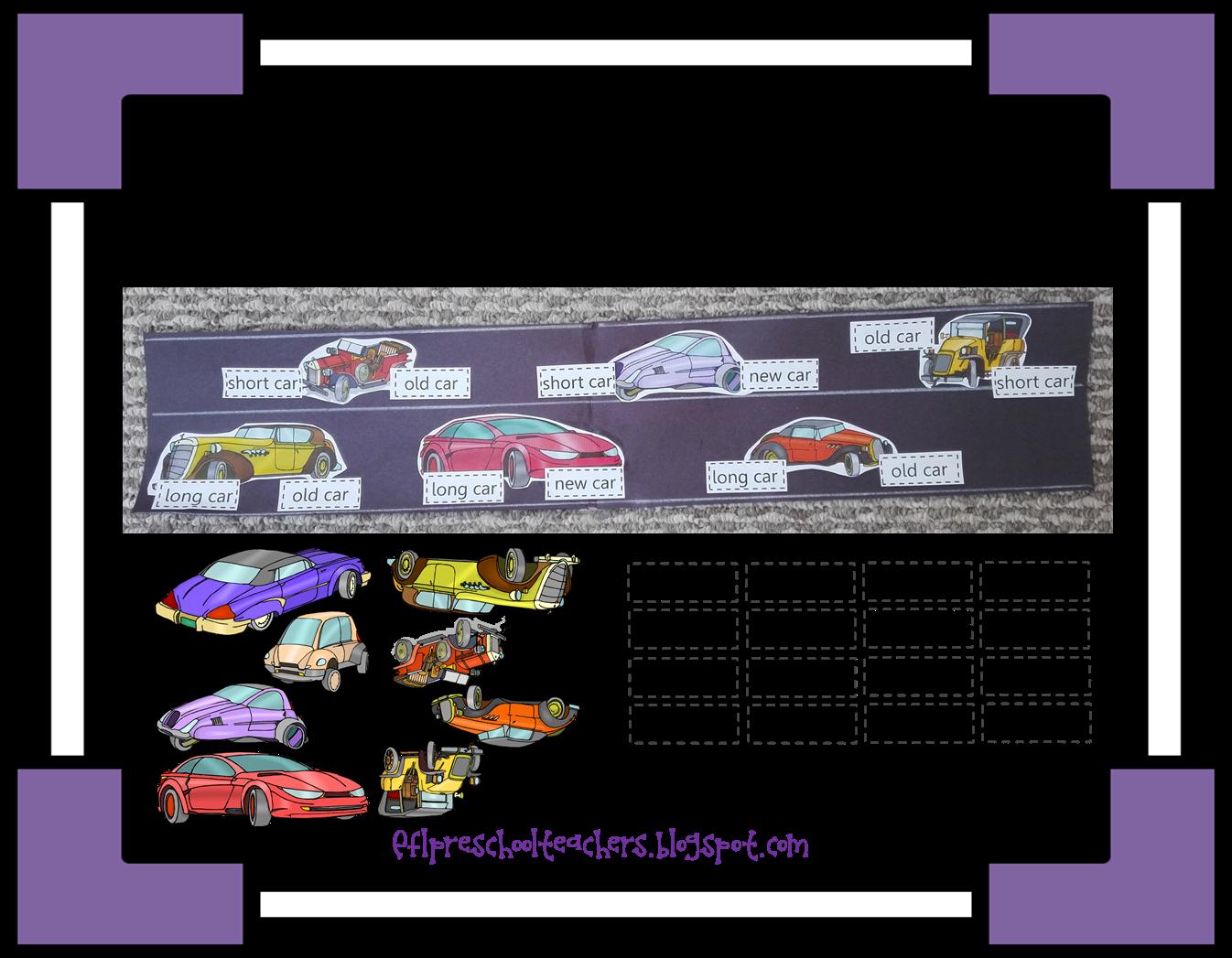 Esl Efl Preschool Teachers Transportation Review Unit For Ell