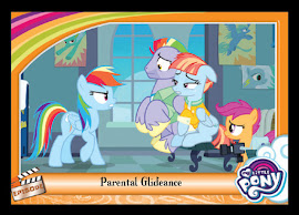 My Little Pony Parental Glideance Series 5 Trading Card