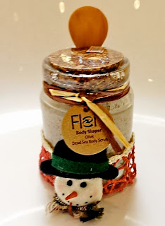 flenco christmas olive deadsea body scrub giveaway