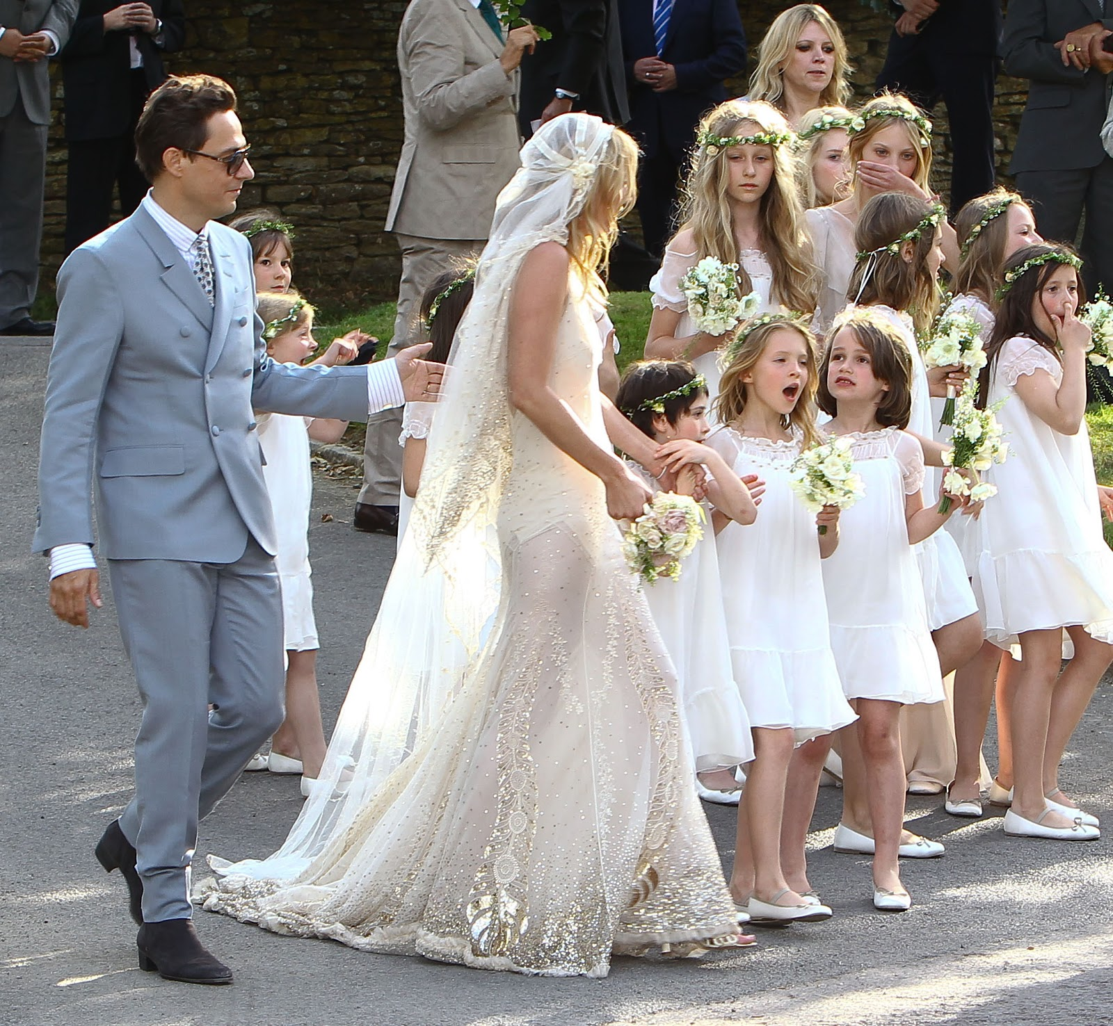 America's Best Blogger: 20 Kate Moss Wedding Photos