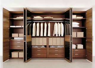 Vestidores como método de organización