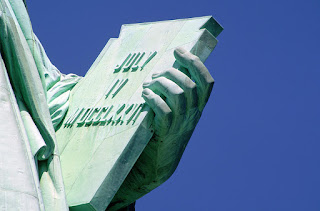 Statue of Liberty detail Loving San Francisco