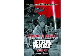 Reseña El arma de un Jedi una aventura de Luke Skywalker