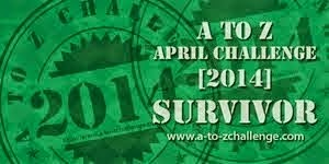 A to Z Challenge Survivor 2014