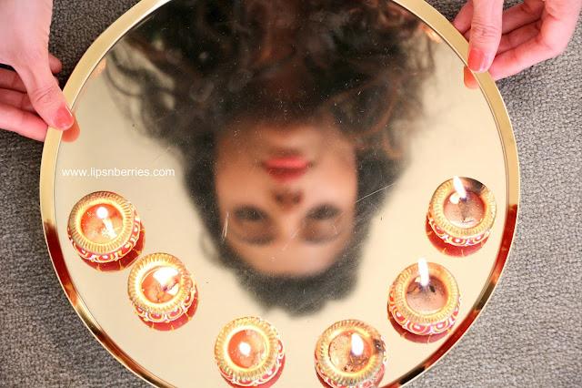 DIY diyas clay lamps for Diwali