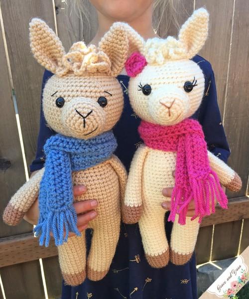Crochet a Llama - Free CAL