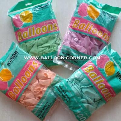 Balon Latex Macaron (DECOTEX)