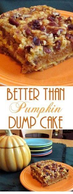 Better Than Pumpkin Dump Cake