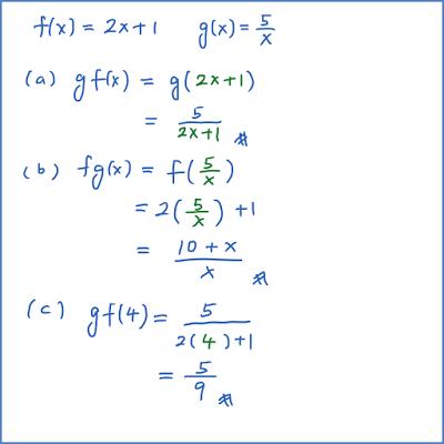 1 5 2 Fungsi Spm Praktis Soalan Pendek Matematik Tambahan Spm