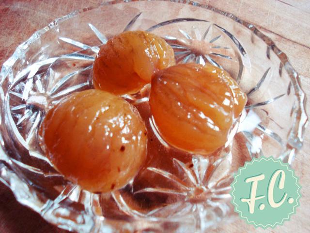 Γλυκό Κουταλιού Κάστανο