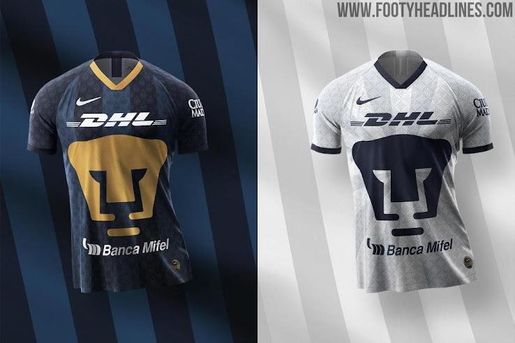 huge selection of cb62b 2229a Pumas 19-20 Home & Away Kits Revealed - Footy Headlines