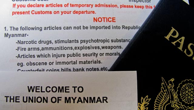 1 of 7: FUNNY MONDAY: NO IMMORTALS IN MYANMAR