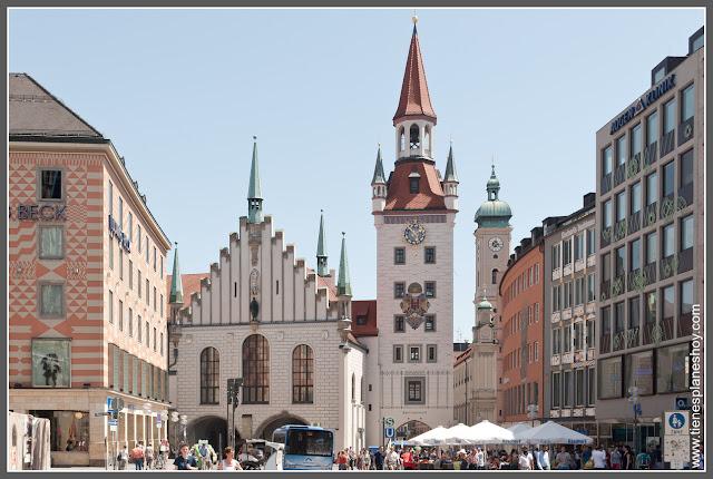 Viejo Ayuntamiento Munich (Alemania)