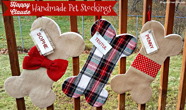 dog bone christmas stockings