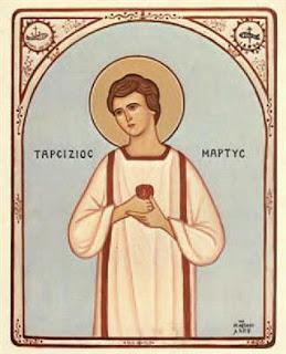 Άγιος Ταρσίζιος 15 Αυγούστου