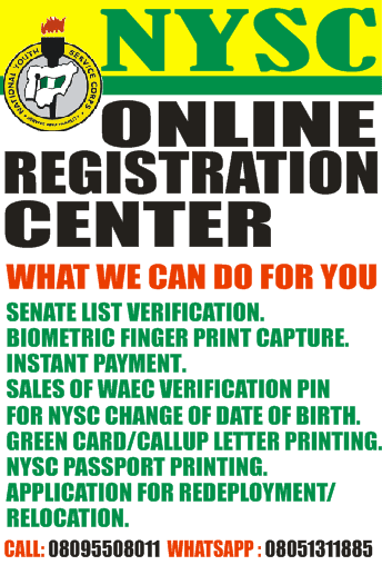 NYSC Accredited Registration Centres in Delta State, Warri