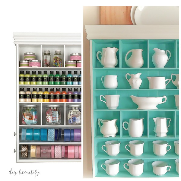 craft cabinet to kitchen display