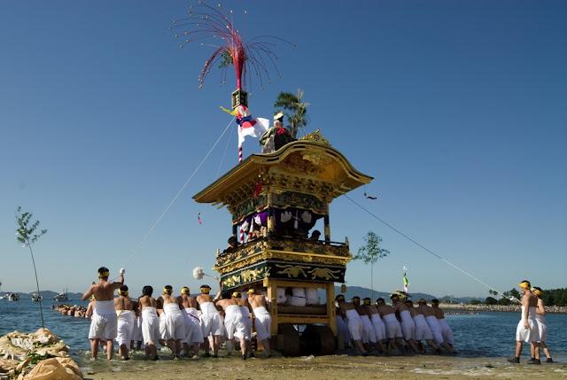 Miya Matsuri at Yatsurugi-jinja Shrine, Wakamiya-jinja Shrine,, Gamagori, Aichi