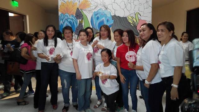 QC Ladies Foundation President Harlene Bautista-Tejedor